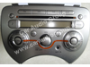car audio car stereo Nissan Nis-0331 front view 100*75