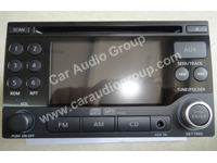 car audio car stereo Nissan nis-0333 front view 200*150