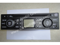 car audio car stereo Nissan nis-0334 front view 200*150