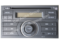 car audio car stereo nissan nis-0342 front view 200*150