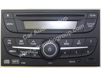 car audio car stereo nissan nis-0343 front view 200*150