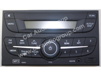car audio car stereo nissan nis-0344 front view 200*150