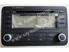 car audio car stereo volkswagen vol-0124 front view 100*75