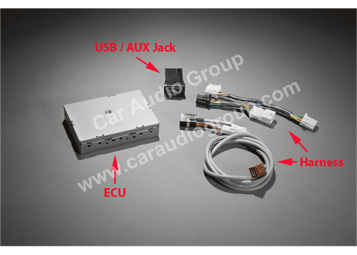 The USB / AUX Solutions of the Toyota OEM Car Audio #00003